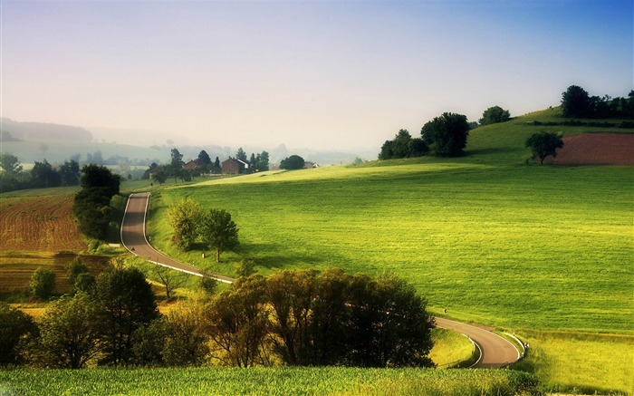 rural landscape-The magnificent natural scenery wallpaper Views:9748