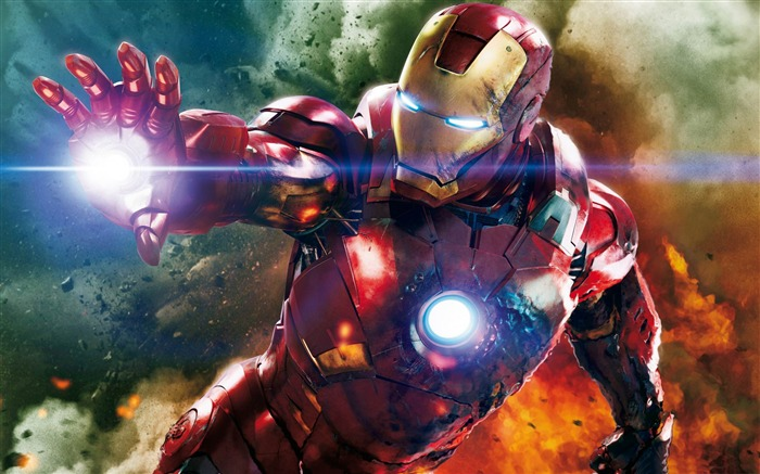 Amazing Iron Man-The Avengers 2012 HD Wallpapers Views:6118
