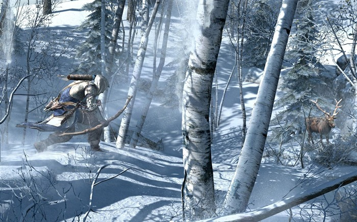 Assassins Creed 3 Game HD Wallpaper 01