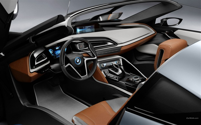 BMW i8 Spyder Concept HD Wallpaper 09 Views:5948