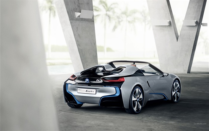 BMW i8 Spyder Concept HD Wallpaper 10 Views:6614