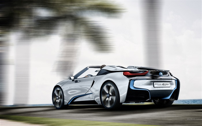 BMW i8 Spyder Concept HD Wallpaper 14 Views:8478