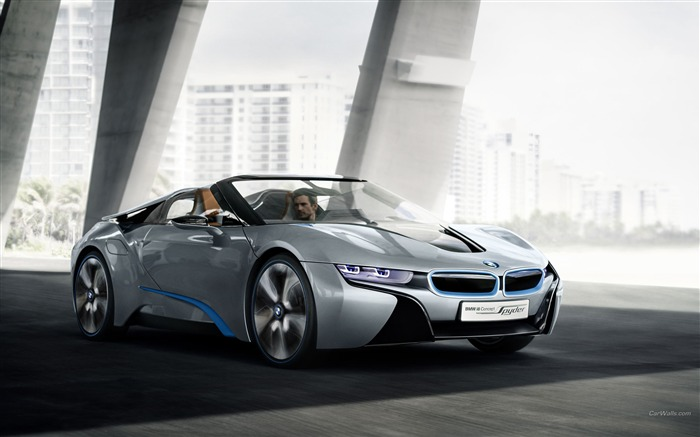 BMW i8 Spyder Concept HD Wallpaper 17 Views:4397