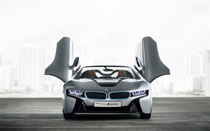 BMW i8 Spyder Concept HD Wallpaper 19 Views:5770