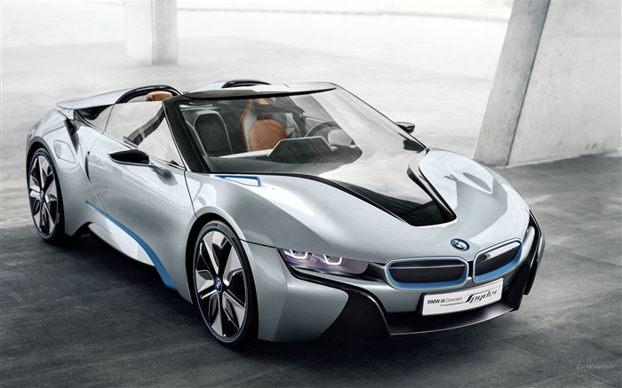 BMW i8 Spyder Concept HD Wallpaper Views:19400