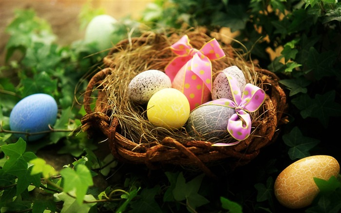 Beautiful Easter Eggs wallpaper Views:10486