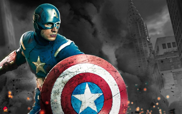 Captain America-The Avengers 2012 HD Wallpapers Views:13235