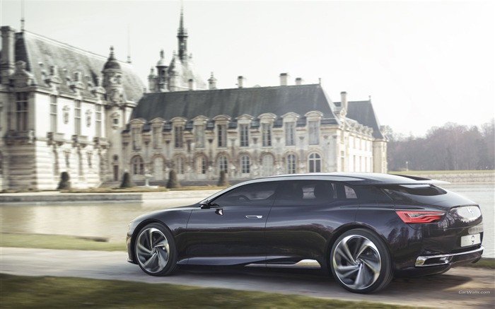 Citroen Numero 9 Concept Car HD Wallpaper 03 Views:4647