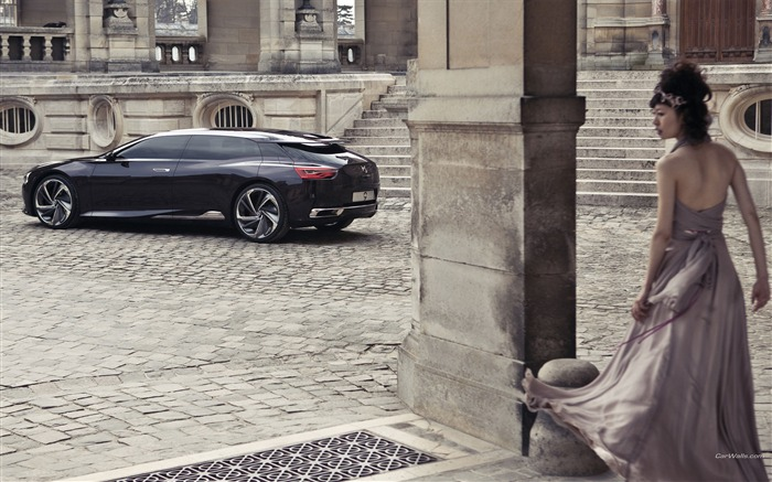 Citroen Numero 9 Concept Car HD Wallpaper 05 Views:4057