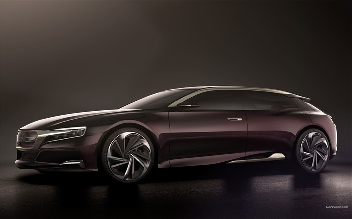 Citroen Numero 9 Concept Car HD Wallpaper Views:9489