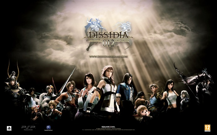 Dissidia 012-Duodecim Final Fantasy Game Wallpaper 01 Views:10869