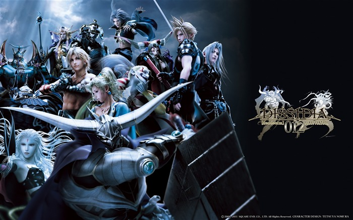 Dissidia 012-Duodecim Final Fantasy Game Wallpaper 04 Views:4601