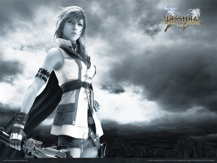 Dissidia 012-Duodecim Final Fantasy Game Wallpaper 06 Views:4897