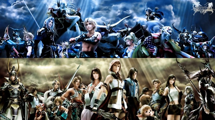 Dissidia 012-Duodecim Final Fantasy Game Wallpaper 08 Views:8361