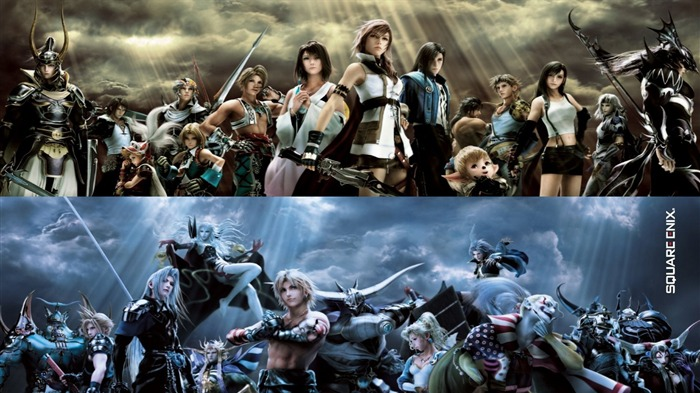 Dissidia 012-Duodecim Final Fantasy Game Wallpaper 10 Views:8866
