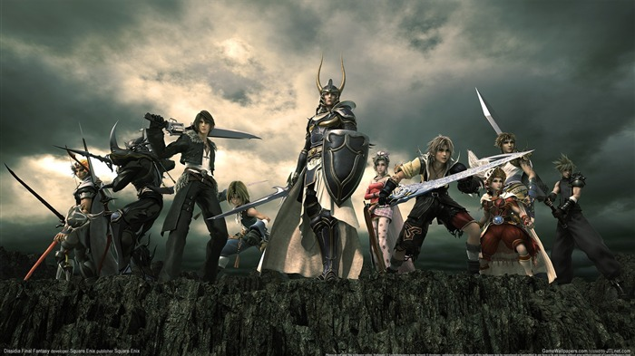 Dissidia 012-Duodecim Final Fantasy Game Wallpaper 11 Views:4145