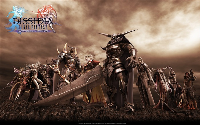 Dissidia 012-Duodecim Final Fantasy Game Wallpaper 14 Views:4864