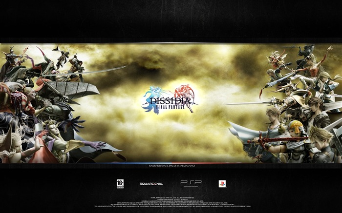 Dissidia 012-Duodecim Final Fantasy Game Wallpaper 15 Views:4501