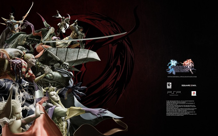 Dissidia 012-Duodecim Final Fantasy Game Wallpaper 16 Views:3688