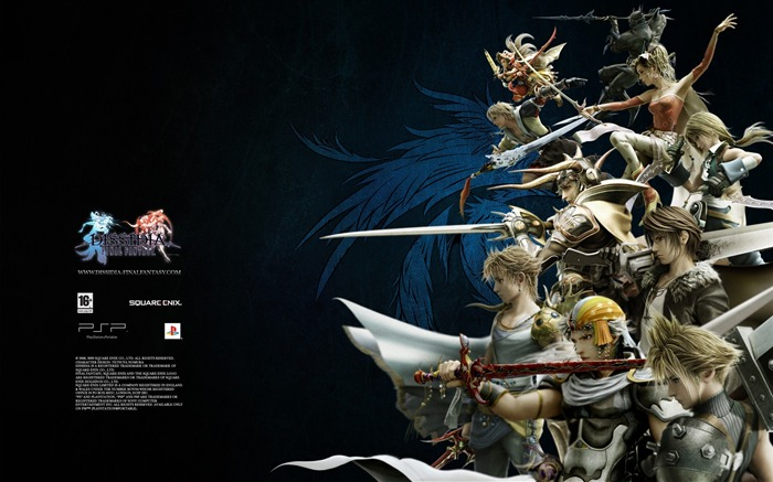 Dissidia 012-Duodecim Final Fantasy Game Wallpaper 17 Views:3741