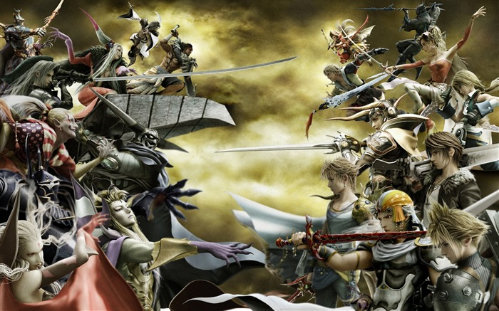 Dissidia 012-Duodecim Final Fantasy Game Wallpaper 19 Views:7352