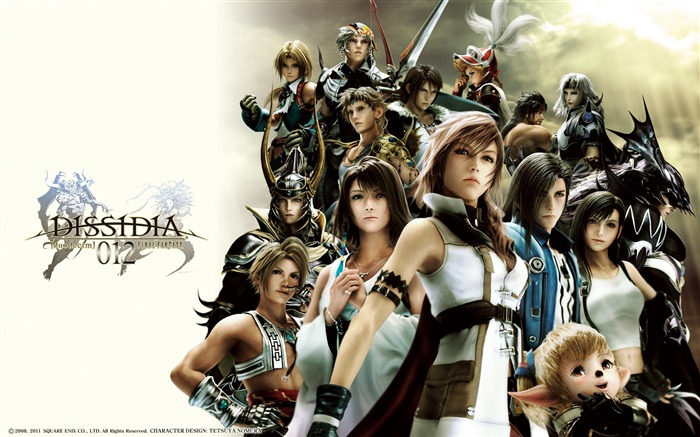 Dissidia 012-Duodecim Final Fantasy Game Wallpaper 20 Views:5683