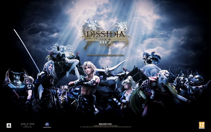 Dissidia 012-Duodecim Final Fantasy Game Wallpaper Views:16665