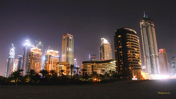 Dubai Marina at Night-Urban landscape photography Views:7651