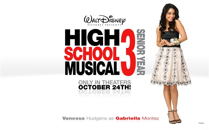 Gabriella Montez-High School Musical Movie Wallpaper Views:7350