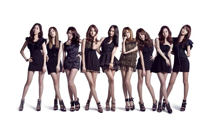 Girls Generation Korean beauty girls wallpaper Views:12149