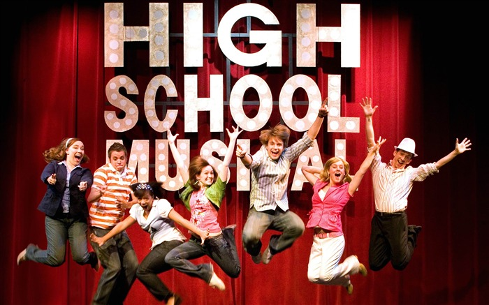 High School Musical Movie Wallpaper Views:9281