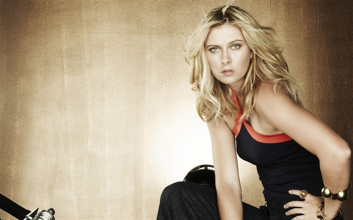 Maria Sharapova-Tennis Sport Desktop Wallpapers 01 Views:4643