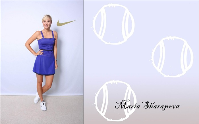 Maria Sharapova-Tennis Sport Desktop Wallpapers 02 Views:5022