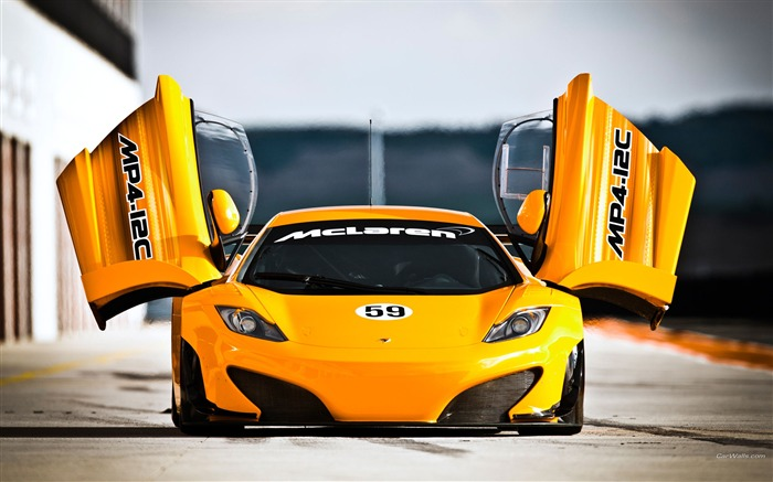 McLaren MP4-12C GT3 Auto HD Wallpaper Views:7151