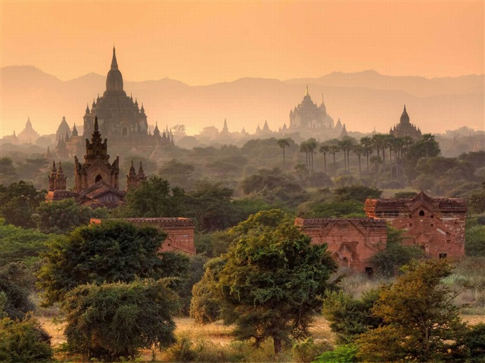 Myanmar-world beautiful scenery wallpaper