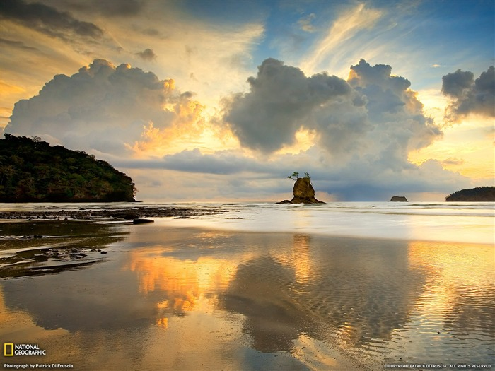 Nicoya Peninsula Costa Rica-National Geographic 2011 Best Wallpapers Views:3257