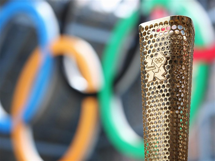 Olympic Torch-London 2012 Olympic Games Wallpaper Views:10003