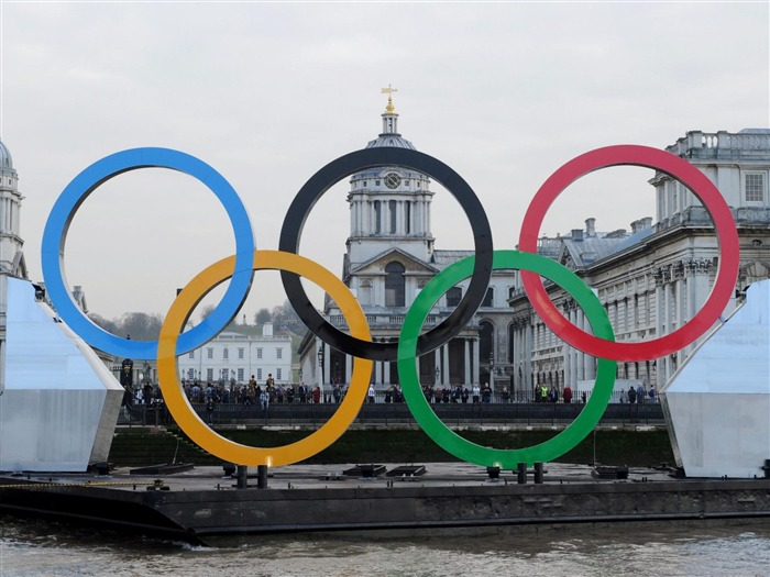 Olympic rings River Thames-London 2012 Olympic Games Wallpaper Views:11205