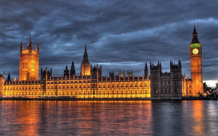 Parliament and Big Ben London travel-city architecture wallpaper Views:18125