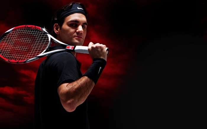 Roger Federer-Tennis Sport Desktop Wallpapers 03 Views:13074