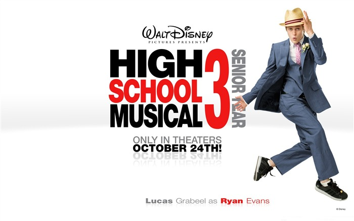 Ryan Evans-High School Musical Movie Wallpaper Views:5905