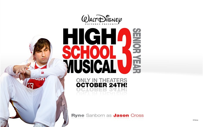 Ryne Sanborn-High School Musical Movie Wallpaper Views:5655