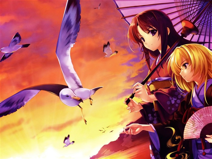 Anime character design wallpapers Views:9440