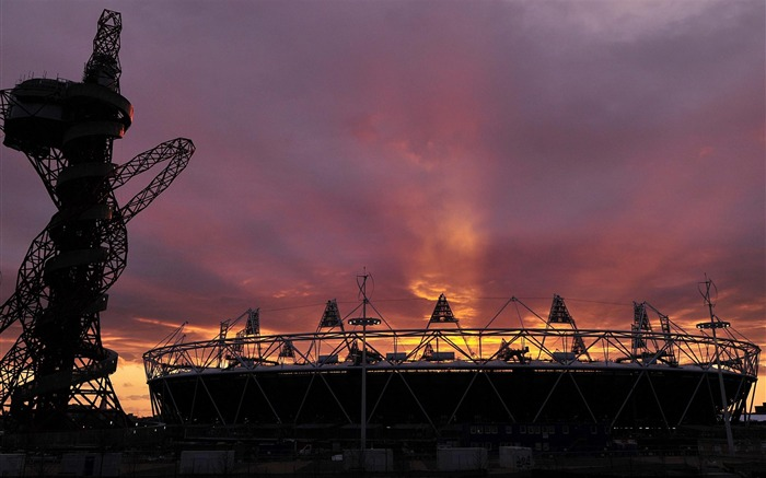 The Olympic Stadium-city architecture wallpaper Views:3341