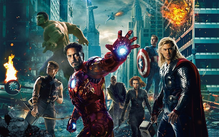 The Avengers 2012 HD Wallpapers Views:13116