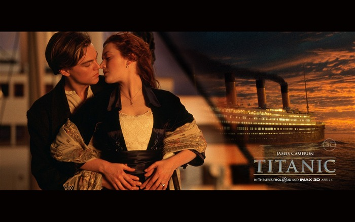 Titanic 3D high-definition movie Wallpapers Views:17775