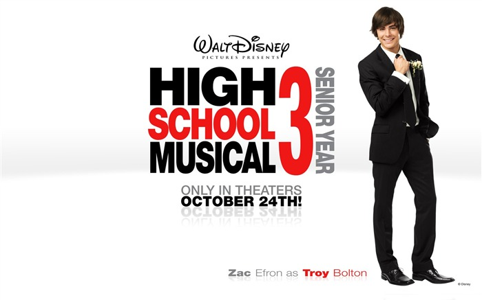 Troy Bolton-High School Musical Movie Wallpaper Views:7454