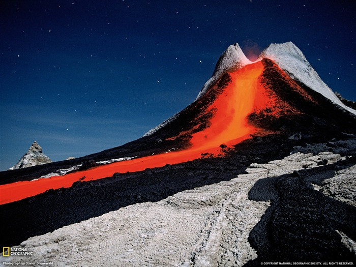 Volcano Tanzania-National Geographic 2011 Best Wallpapers Views:4887