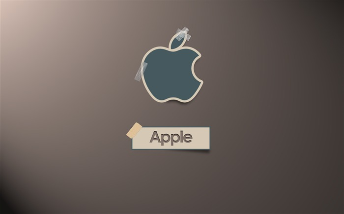 apple in the shade-Apple theme Desktop Wallpapers Views:6023