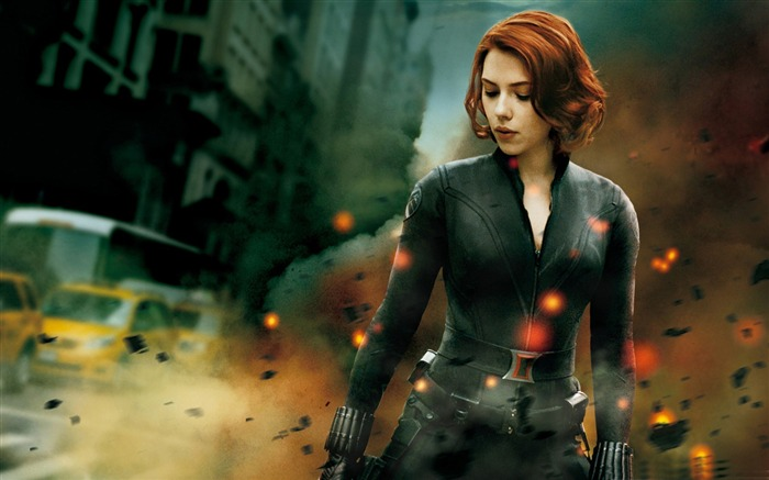 beauty black widow-The Avengers 2012 HD Wallpapers Views:3363
